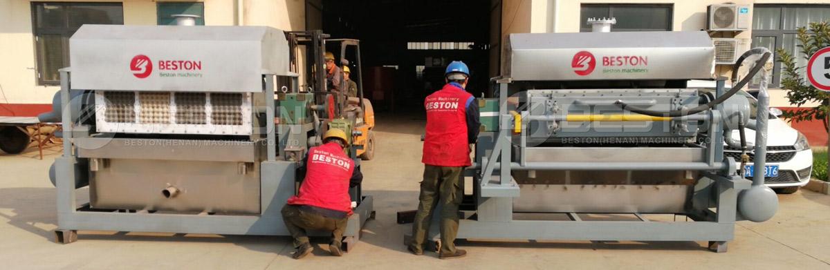 Beston Egg Tray Making Machine in India