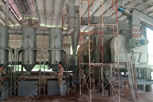 Beston Charcoal Making Machine Installed in Malaysia