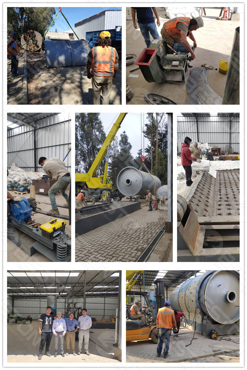 Tyre Pyrolysis Project Installed in Chile