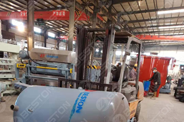 Beston Pulp Egg Tray Machine Manufacturing Factory