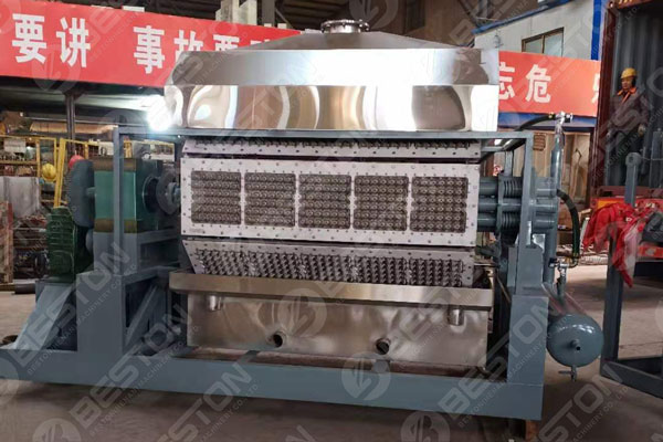 Pulp Egg Tray Making Machine Delivered to India