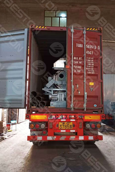 Pulp Egg Tray Plant Delivered to India