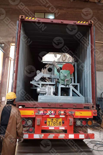 Pulp Egg Tray Plant Shipped to India
