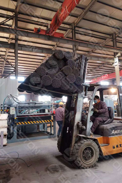 Shipment of BTF5-8 Pulp Egg Tray Manufacturing Machine to India