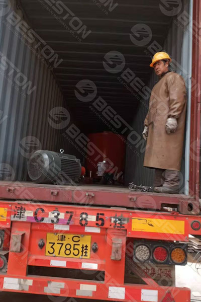 Shipment of BTF5-8 Pulping System to India