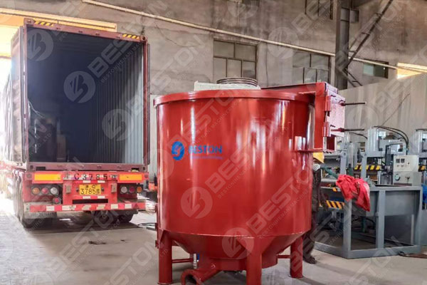 Shipment of Pulping System