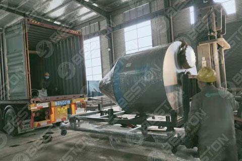BLJ-16 Pyrolysis Equipment Shipped to Saudi Arabia