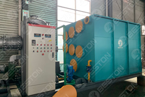 BLJ-3 Mini Pyrolysis Plant Shipped to Paraguay