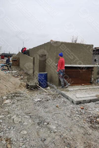 Beston Egg Tray Dryer in Kyrgyzstan