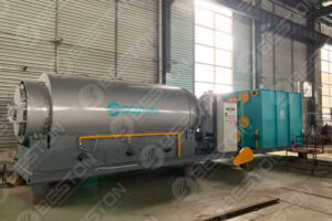 Mini Pyrolysis Plant Shipped to Paraguay