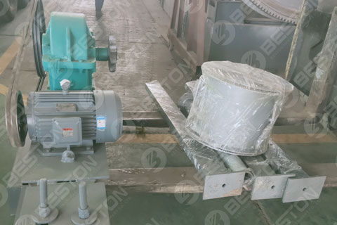 Parts of Charcoal Making Machine Delivered to Ghana