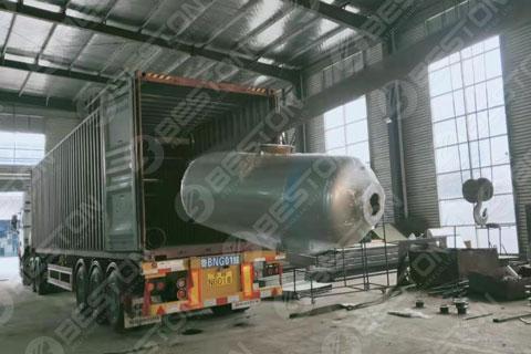 Pyrolysis Machine Shipped to Saudi Arabia