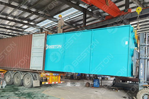 Waste Pyrolysis Plant Shipped to Saudi Arabia