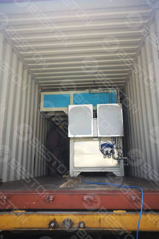Beston Egg Tray Packing Machine Delivered to Indonesia