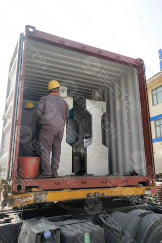 Paper Egg Tray Packing Machine Shipped to Indonesia
