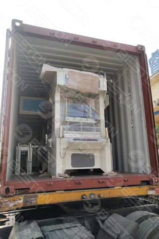 Pulp Egg Tray Packing Machine Shipped to Indonesia